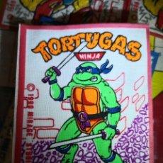 Pegatinas de colección: PARCHE TORTUGAS NINJA AÑO 1990. Lote 135888590