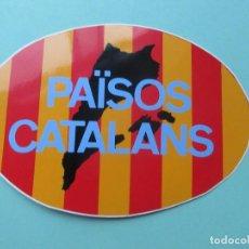 Autocolantes de coleção: PEGATINA POLITICA PAÍSOS CATALANS. Lote 137263346