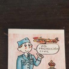 Pegatinas de colección: PEGATINA PROTECCIÓN CIVIL. Lote 137630761