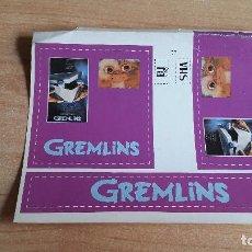 Pegatinas de colección: PEGATINA CINE PELICULA -- GREMLINS - GIZMO. Lote 139034694