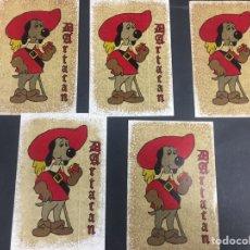 Pegatinas de colección: PEGATINAS DARTACAN AÑOS 80. Lote 139888133