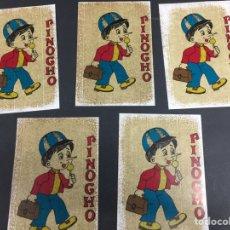 Pegatinas de colección: PEGATINAS PINOCHO AÑOS 80. Lote 139888266