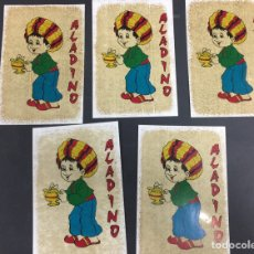 Pegatinas de colección: PEGATINAS ALADINO AÑOS 80. Lote 139888344