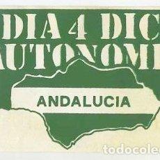 Pegatinas de colección: PEGATINA PSA PARTIDO SOCIALISTA DE ANDALUCIA. Lote 139914902