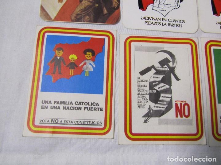 Pegatinas de colección: 12 pegatinas, constitución no, falange, etc - Foto 7 - 140179866