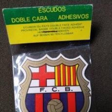 Pegatinas de colección: PEGATINA DEL ESCUDO DEL FÚTBOL CLUB BARCELONA. Lote 140353196