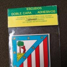 Pegatinas de colección: PEGATINA ESCUDO ATLÉTICO DE MADRID. Lote 140363989
