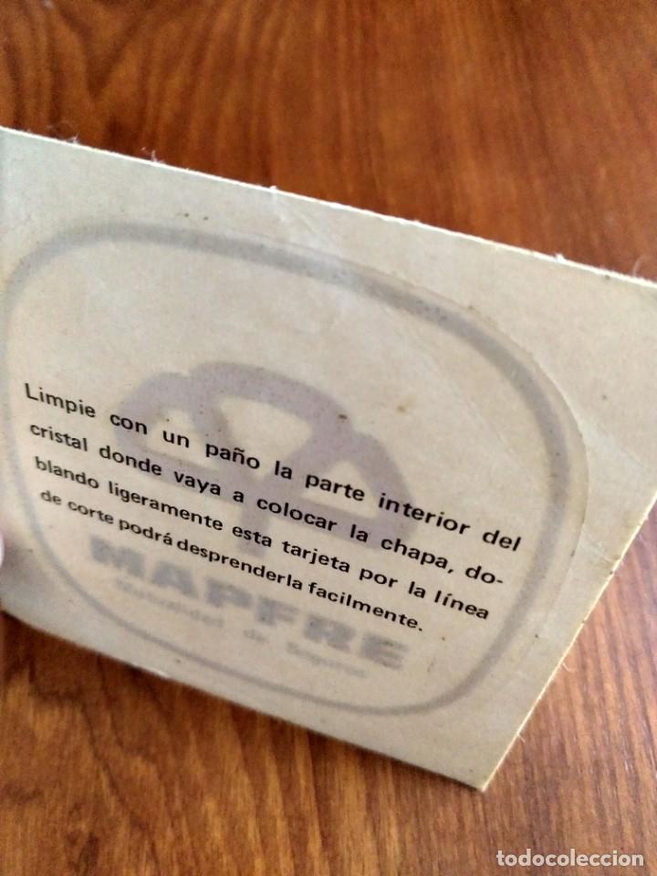 Pegatinas de colección: Pegatina Mapfre seguros sin pegar para cristal - Foto 2 - 140971886