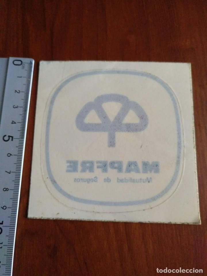 Pegatinas de colección: Pegatina Mapfre seguros sin pegar para cristal - Foto 3 - 140971886