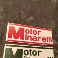 Pegatinas de colección: PEGATINAS MOTOR MINARELLI SIN PEGAR. Lote 142825606