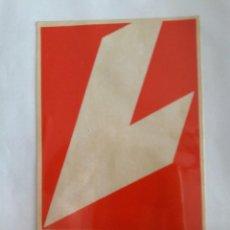 Pegatinas de colección: PEGATINA DE PUBLICIDAD REVISTA LECTURAS.. Lote 145521126