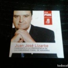 Pegatinas de colección: PEGATINA POLITICA SOCIALISTA NAVARRA. Lote 146121050