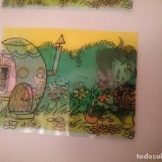 Pegatinas de colección: PEGATINAS TRANSPARENTES ALEMANAS - AÑOS 80 -VER FOTO. Lote 147508786
