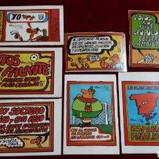 Pegatinas de colección: 7 PEGATINAS FORGES 82 MUNDIAL DE FÚTBOL.. Lote 148037620