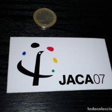 Pegatinas de colección: -PEGATINA JACA 07. Lote 148247606