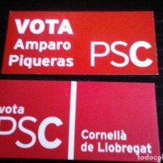 Pegatinas de colección: PEGATINA POLITICA SOCIALISTA CATALUNYA. Lote 148817138