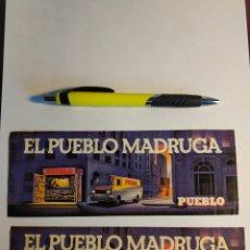 Adesivi di collezione: PEGATINAS PRENSA PUEBLO PERIÓDICO RADIO. Lote 149585569