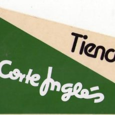 Pegatinas de colección: TIENDAS EL CORTE INGLÉS. Lote 150842150