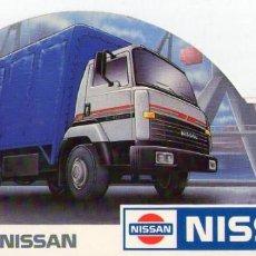 Pegatinas de colección: CAMIONES NISSAN. Lote 150842494
