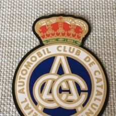 Pegatinas de colección: ADHESIVO PEGATINA RACC REIAL AUTOMOBIL CLUB DE CATALUNYA. Lote 152450562