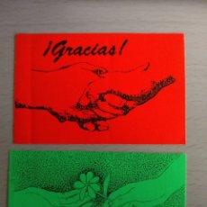 Pegatinas de colección: LOTE 2 PEGATINAS ¡GRACIAS!. Lote 152456554
