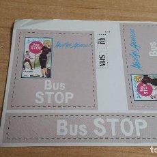 Pegatinas de colección: PEGATINA PELICULA CINE -- MARILYN MONROE - BUS STOP. Lote 152544310