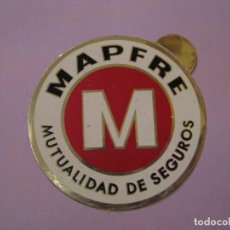 Pegatinas de colección: PEGATINA DE MAPFRE. MUTUALIDAD DE SEGUROS. 7 CM.. Lote 152946838