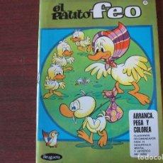 Pegatinas de colección: BRUGUERA ARRANCA PEGA Y COLOREA - Nº 6 - 1971 / 1ª ED - STOCK DE QUIOSCO - PATITO FEO. Lote 153366670