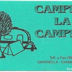 Pegatinas de colección: CAMPING LA CAMPIÑA, CÓRDOBA.. Lote 155986318