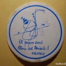 Pegatinas de colección: PEGATINA - PUBS Y DISCOTECAS - EL PÁJARO AZUL - PLAZA DE PONIENTE, 1 - VALLADOLID . Lote 156010834