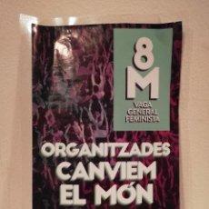 Pegatinas de colección: PEGATINA ORIGINAL - CNT 8M - FEMINISMO - INDEPENDENTISMO - POLITICA - CATALUÑA. Lote 156011334