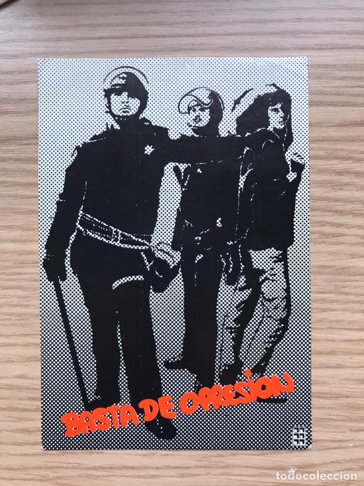 PEGATINA POLÍTICA TRANSICIÓN (Coleccionismos - Pegatinas)