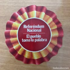 Pegatinas de colección: PEGATINA POLÍTICA REFERÉNDUM. Lote 156827342