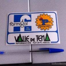 Pegatinas de colección: VALLE DE TENA. PEGATINA AÑOS 80. Lote 158706341