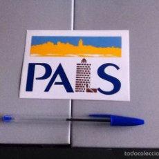 Pegatinas de colección: PALS. PEGATINA. Lote 158851386