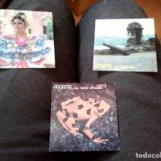 Pegatinas de colección: 3 PEGATINAS DE PANAMA. Lote 159478202