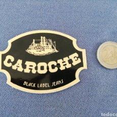 Pegatinas de colección: PEGATINA CAROCHE. Lote 159654942