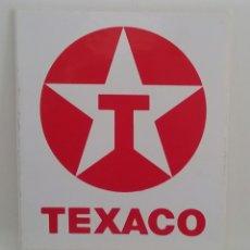 Pegatinas de colección: PEGATINA ADHESIVA TEXACO.. Lote 160298869