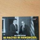 Pegatinas de colección: PEGATINA POLITICA CDR CATALUÑA CATALUNYA. Lote 161236806