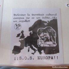 Pegatinas de colección: PEGATINA POLITICA SKINHEAD. Lote 161899586