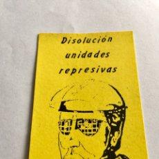 Pegatinas de colección - PEGATINA POLÍTICA TRANSICIÓN POLITICA - 162215797