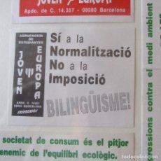Autocollants de collection: PEGATINA POLITICA. Lote 162360394