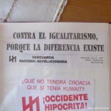 Autocollants de collection: PEGATINA POLITICA. Lote 162361662