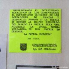 Autocollants de collection: PEGATINA POLITICA. Lote 162362038