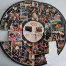 Pegatinas de colección: DISCO DE PEGATINAS ADHESIVAS DE LA REVISTA SUPER POP ,,BANANARAMA,, ,,LIMAHL,, ,,ESTEFANÍA,, ,,STIN. Lote 162761732