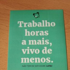 Pegatinas de colección: PEGATINA POLITICA PORTUGUESA. Lote 163045014