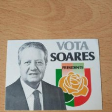 Pegatinas de colección: PEGATINA POLITICA PORTUGUESA. Lote 163045110