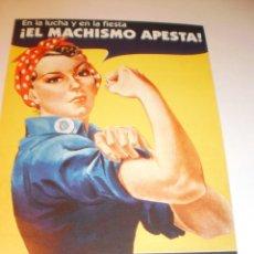 Pegatinas de colección: PEGATINA YESCA JUVENTUDES DE IZQUIERDA CASTELLANA NACIONALISTAS INDEPENDENTISTAS HACIA 2014. Lote 165420934