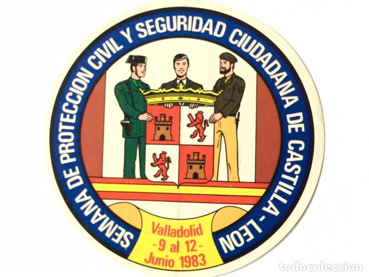 ANTIGUA PEGATINA POLICIA ARMADA,POLICÍA NACIONAL,CUERPO NACIONAL DE POLICIA (Coleccionismos - Pegatinas)