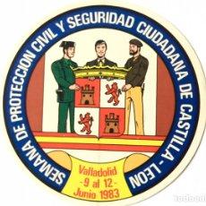 Pegatinas de colección: ANTIGUA PEGATINA POLICIA ARMADA,POLICÍA NACIONAL,CUERPO NACIONAL DE POLICIA. Lote 165662617